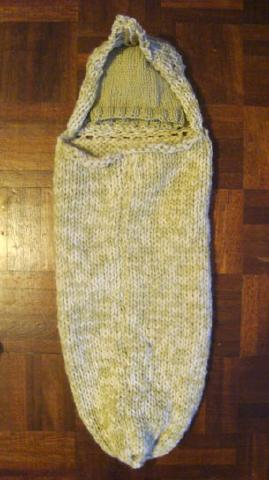 Knitted Baby Romper All In One