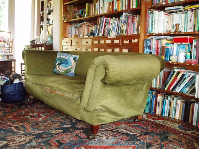 Ftgh Edwardian Sofa Upholstery Project