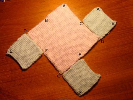 Knitting Pattern Slippers Squares : Downsizer: for a sustainable & ethical future - Simple Knitted Slippers