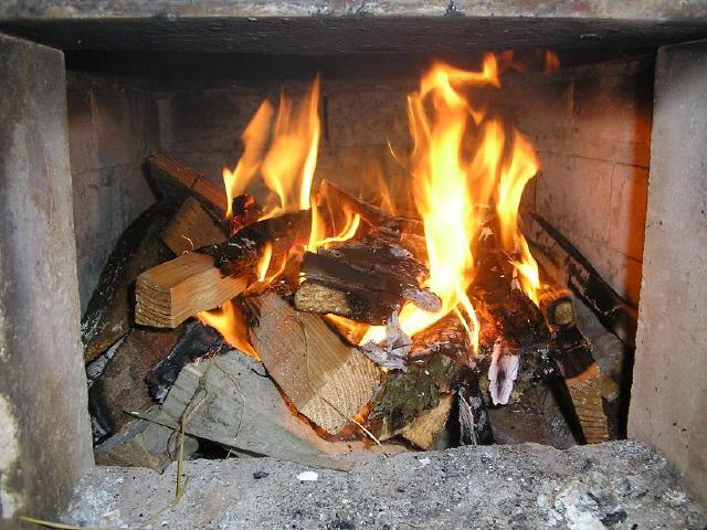 Lighting A Fire Top Down Burning