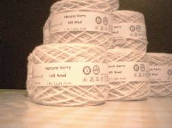 Kerry Hill wool ready to go!